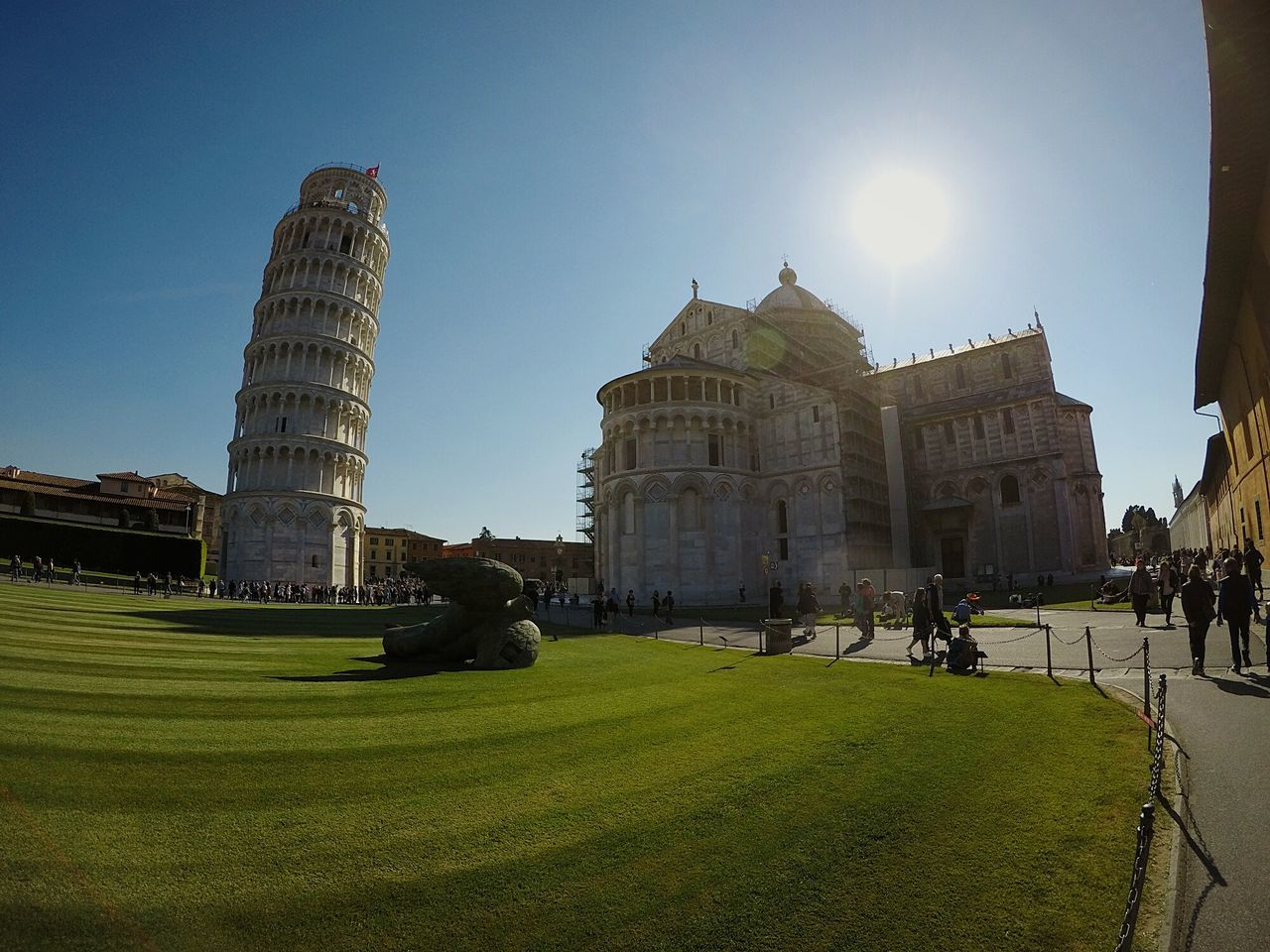 Architecture History Outdoors Building Exterior People City Sky Loves_team_members Tweegram Swag Italy Hero5black EyeEm Best Shots Toscana Pisa Tower High Angle View Amazing Tourism Travel Destinations Goprophotography All_shots Landscape Cute IGDaily Superview