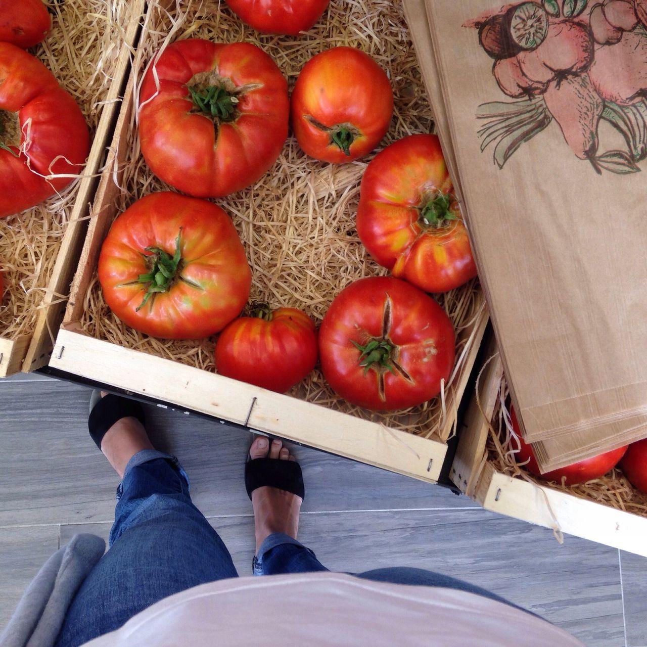 Food Shopping Veggies Organic Tomatoes Biodiversity