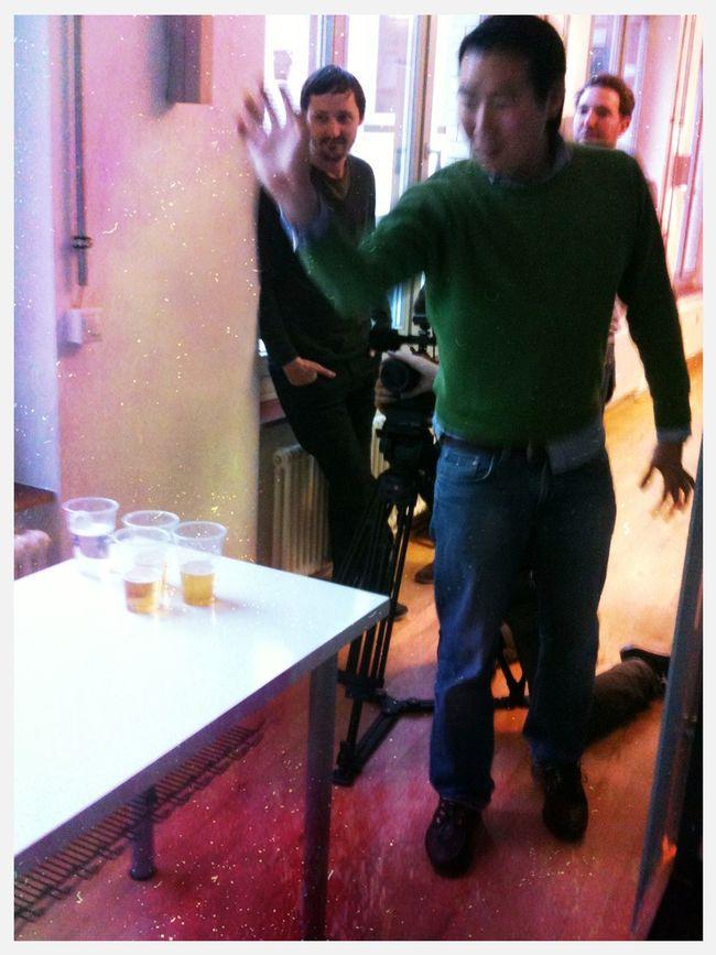beer pong Friday at BuddyBeers Office Bar Beer Pong Friday