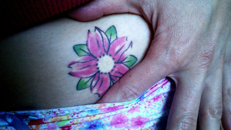 Flower Tattoo ThatsMe Onmyskin