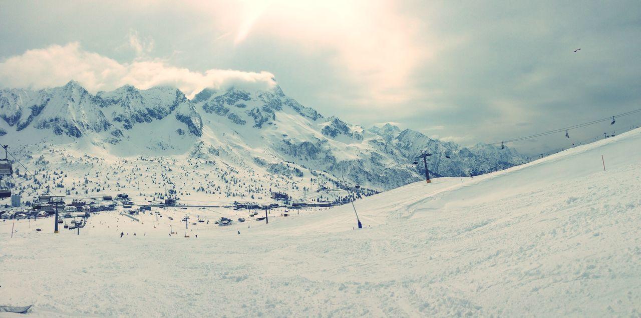 Ski Lift At Tourist Resorts