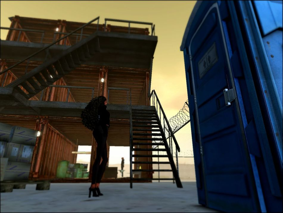 Digital Art Outdoors Secondlife Virtual Reality World Virtual Travels Vr VR Art Industrial