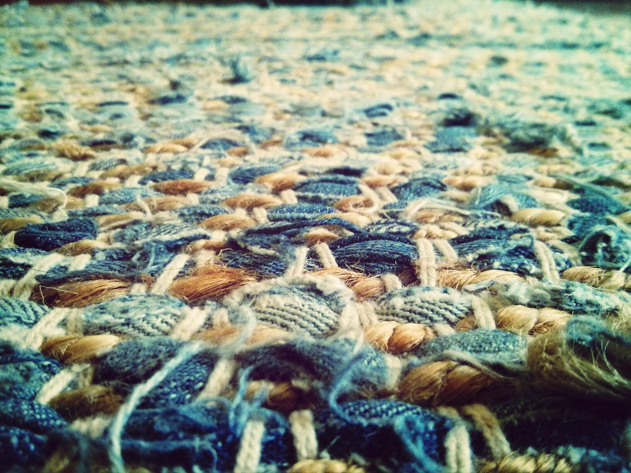 Old Jeans Carpet Design Art & Design Interior Desin