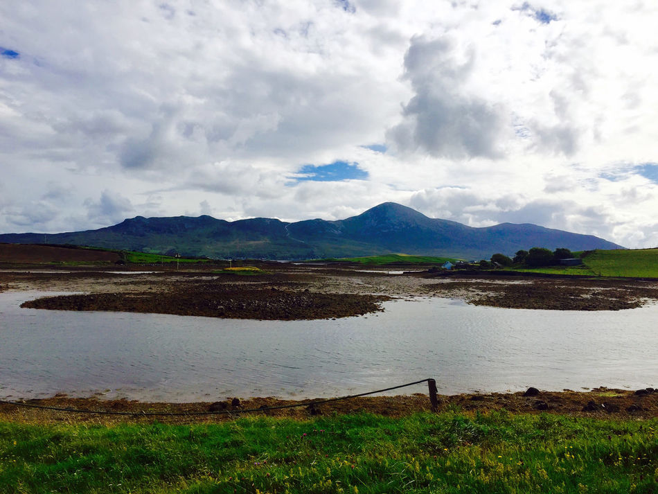 Cloudscape County Mayo Croagh Patrick Majestic Mountain Range Outdoors The Reef Tourism Travel Destinations Water
