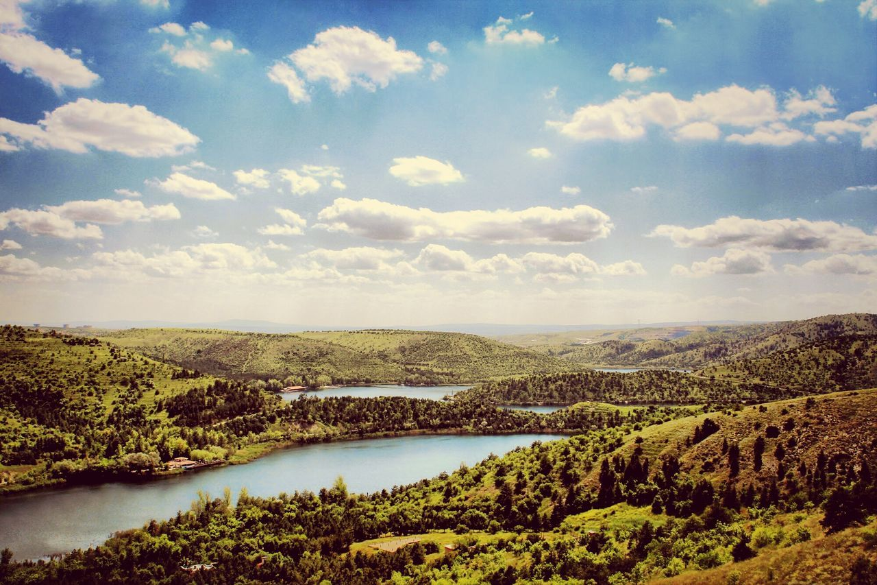 Nature Lake View Landscape Eymir