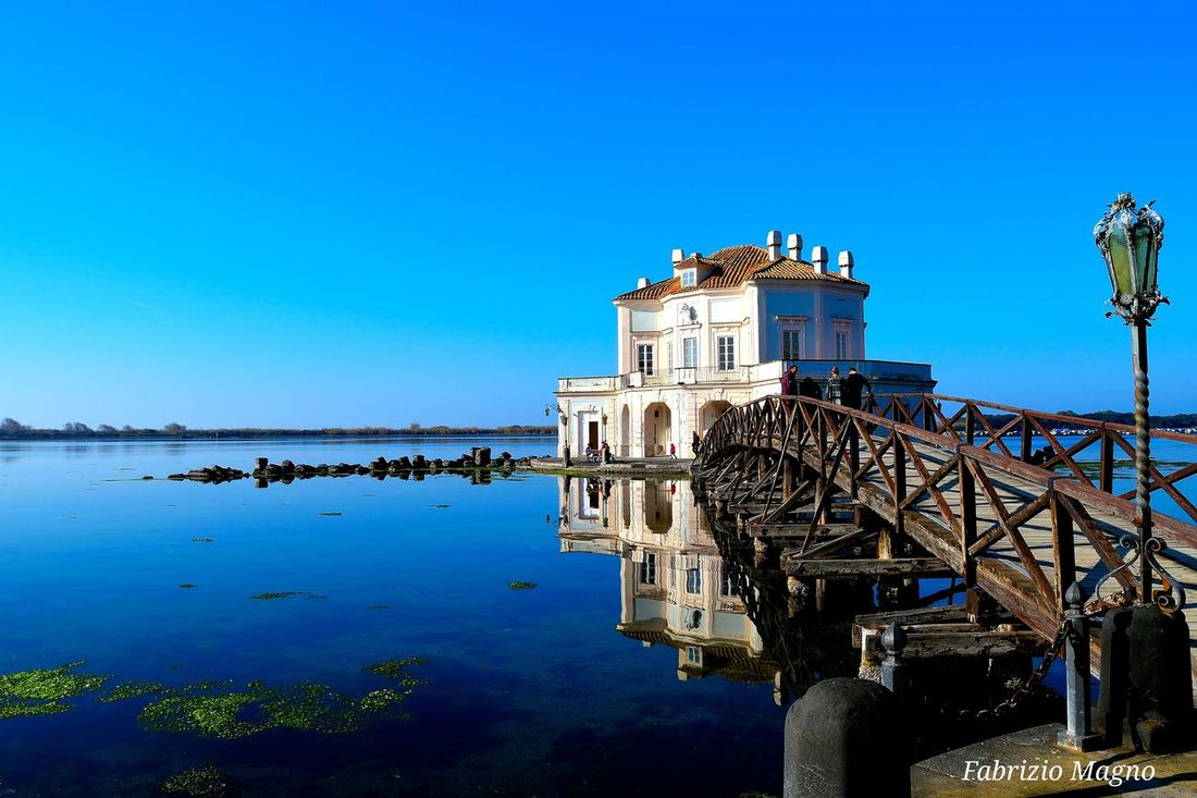 Casina Vanvitelliana - Lago del Fusaro, Napoli. Landscape Napoli Naples Nature Beautiful View Scenery Shots Photoofday Lake Blue Sky Porn Water Italy Paisaje Panorama Bluesky Paysage Love Architecture Vanvitelliana
