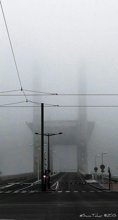 Bridge Bordeaux Pont Chaban-Delmas Black & White Blackandwhite Monochrome Shades Of Grey