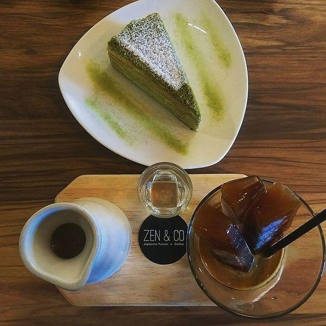 Cubescoffee Latte Firsttimetrying Zenandco Japanesefusioncoffee Teabreak