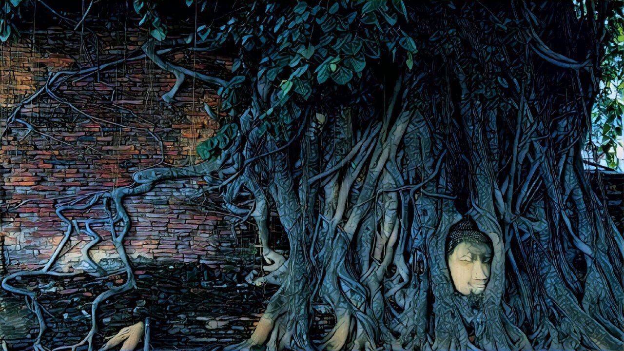 Mahathat Ayutthaya Thailand...