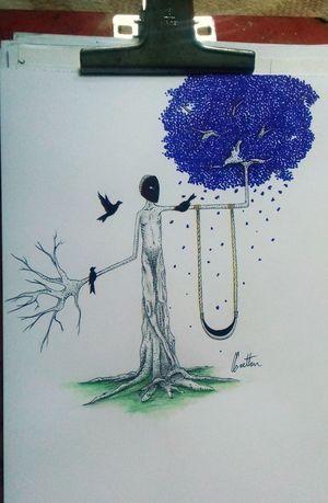 Infância. Art, Drawing, Creativity Doodle Art Pontilhismo Drawing Tattoo