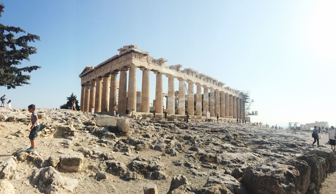 Beautiful stock photos of athens, Activity, Architectural Column, Architecture, Athena Nike
