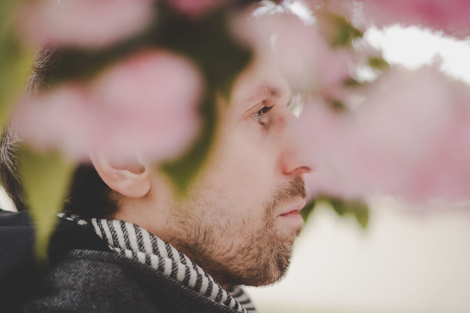 Beard Beauty In Nature Close-up Day Flower Freshness Headshot Nature One Person Outdoors People Portrait Young Men Long Goodbye