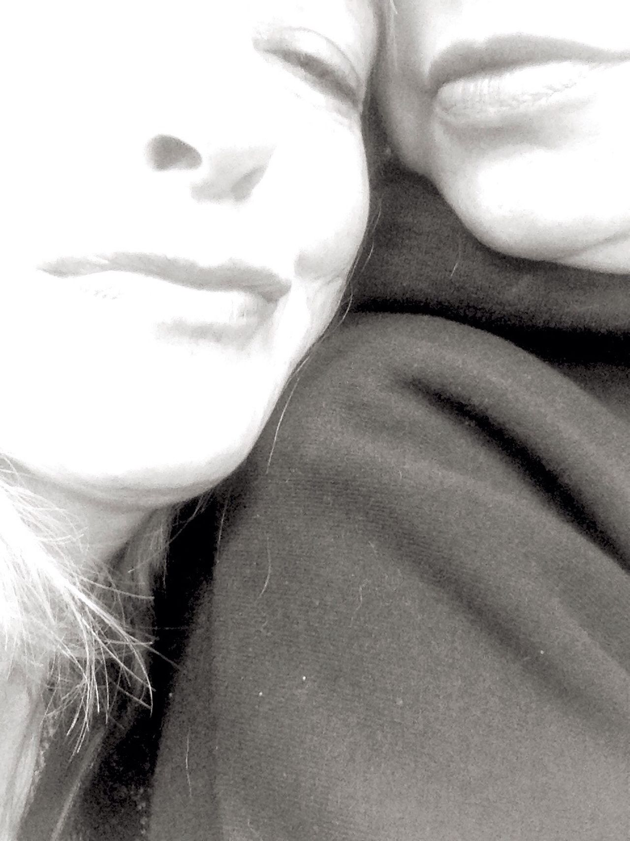 Maximum Closeness Real People Real Friendship ∞ Blackandwhite Photography Close Up Photography