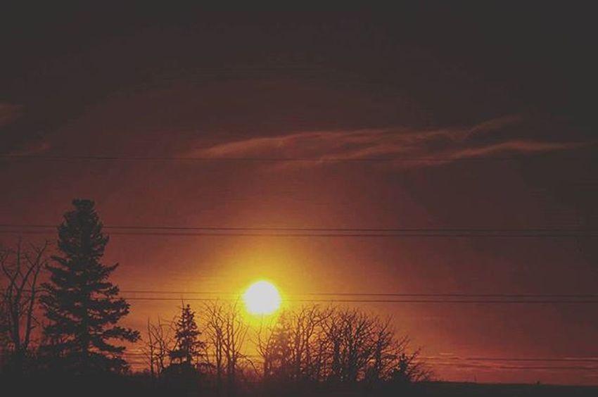 Sunset This photo taken with Nikond3200 with under exposed setting to make sky as burning. Nikon Nikonusa Nikoncanada Dslrphotography Outdoorphotography Landscape Love TBT  Instagood Instapic Instagram Helloworld Hello Photoofthedays Shutyouraperutre Outdoorphotomag 20likes Photographer Yeg Ycc Rockymountains Sunset Sunrise Spring