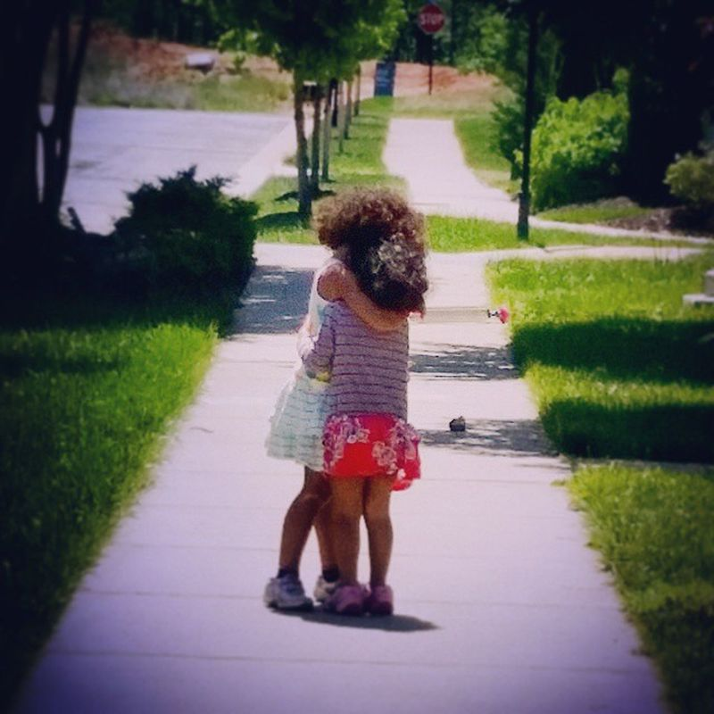 Day 125 Sisters Childhoodunplugged Outdoorfun Shootyourlife Mommytweet puddlewonderful365 playtime bestfriendsforever picoftheday project365 my_365 ciuan365 unforgettableinstagram clickinmoms