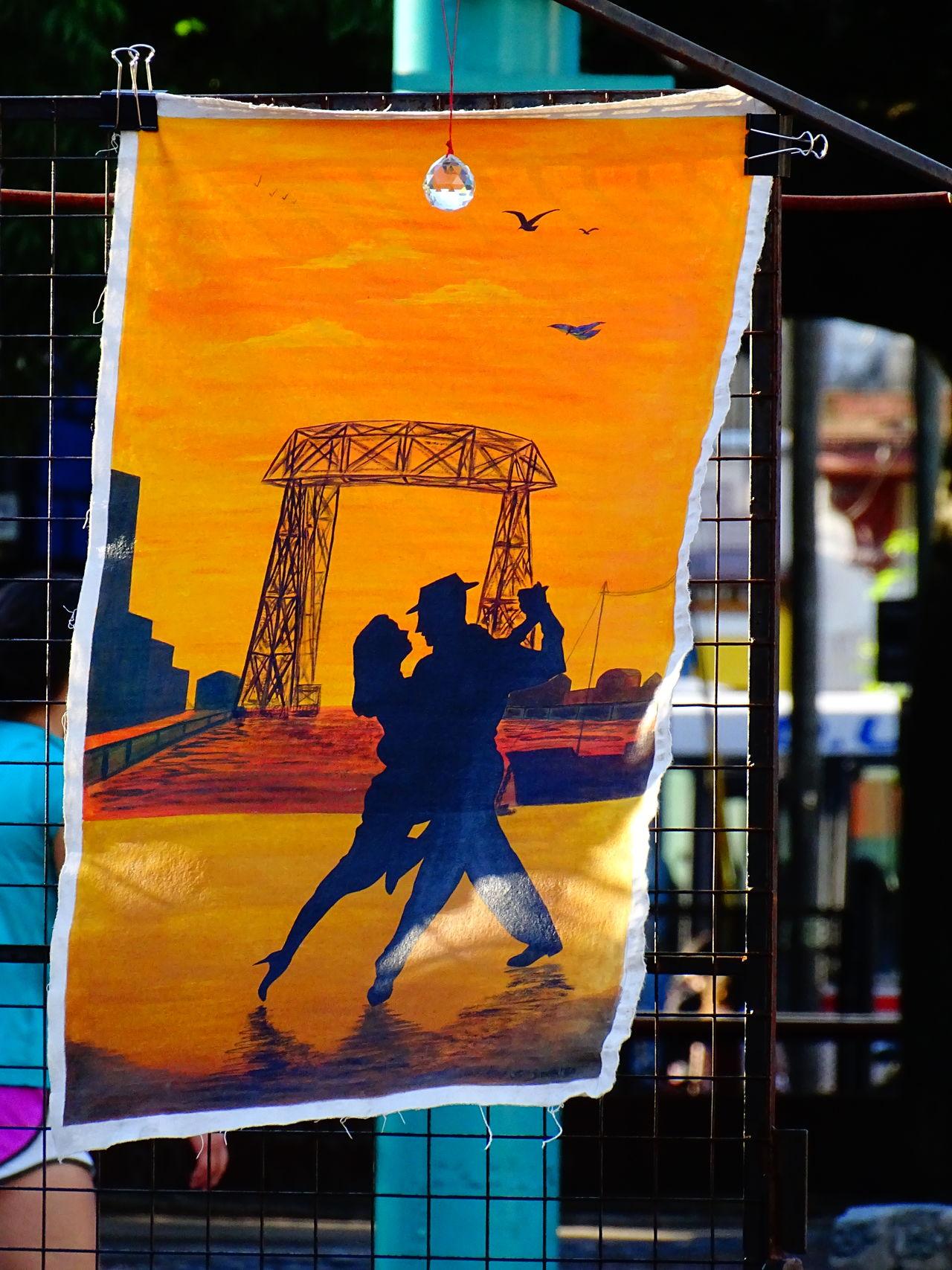 Dancing Tango Argentina Buenos Aires Dancing Tango Full Length Painting Art Street Art In Buenos Aire Street Photography Sunset Tango Dancers