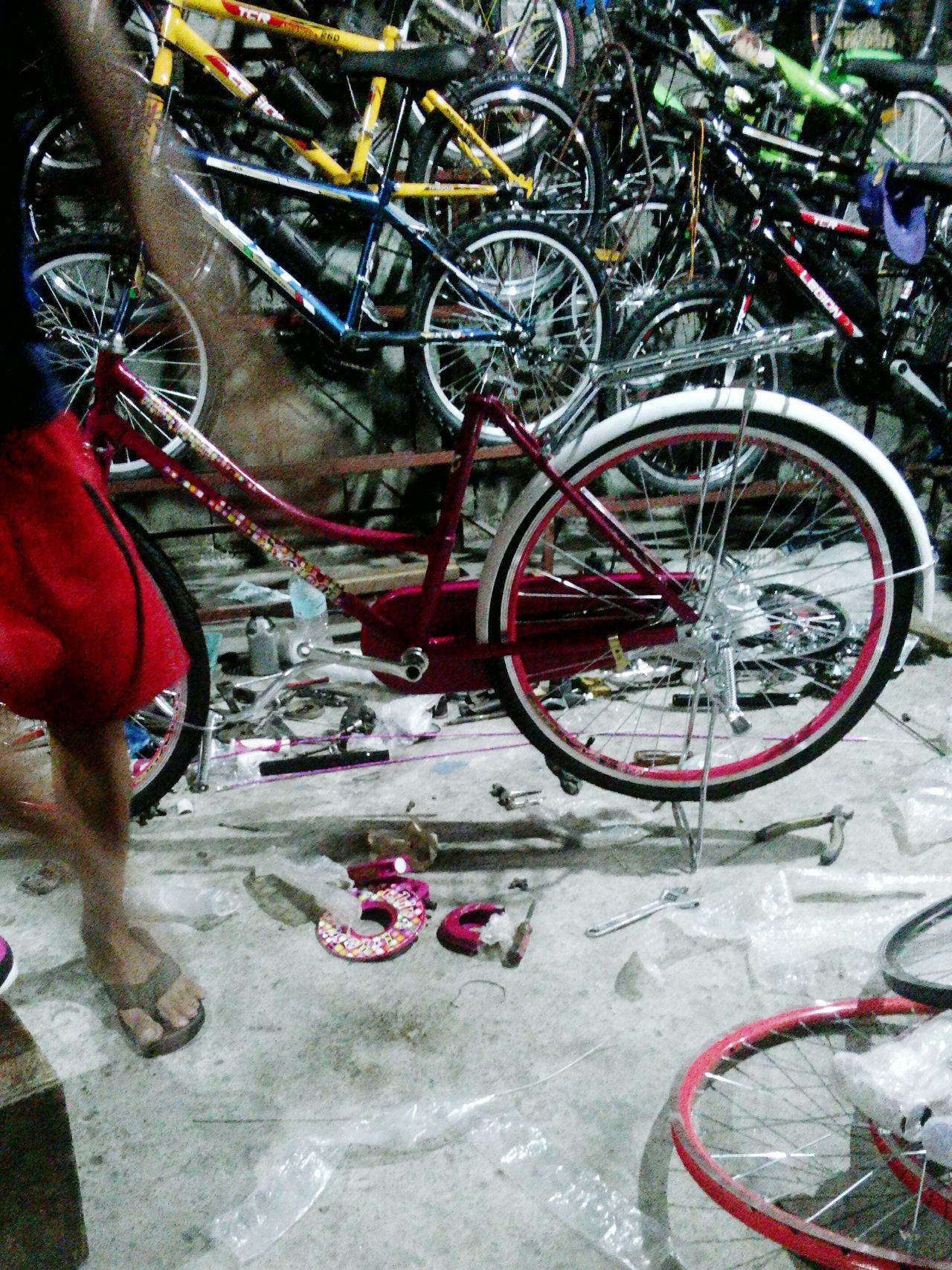 Mode Of Transport Outdoors Japanesebike Assembling CyclingUnites