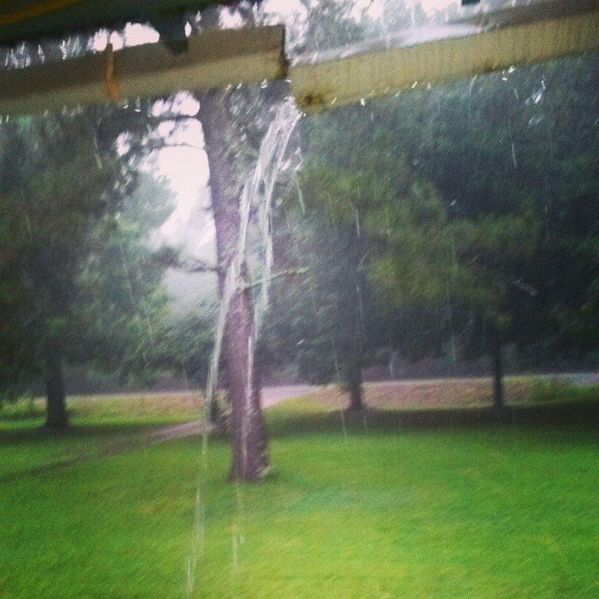 The rain is breaking things. Tisk Tisk* Rain Nature Kindascared Broken gutter Idk