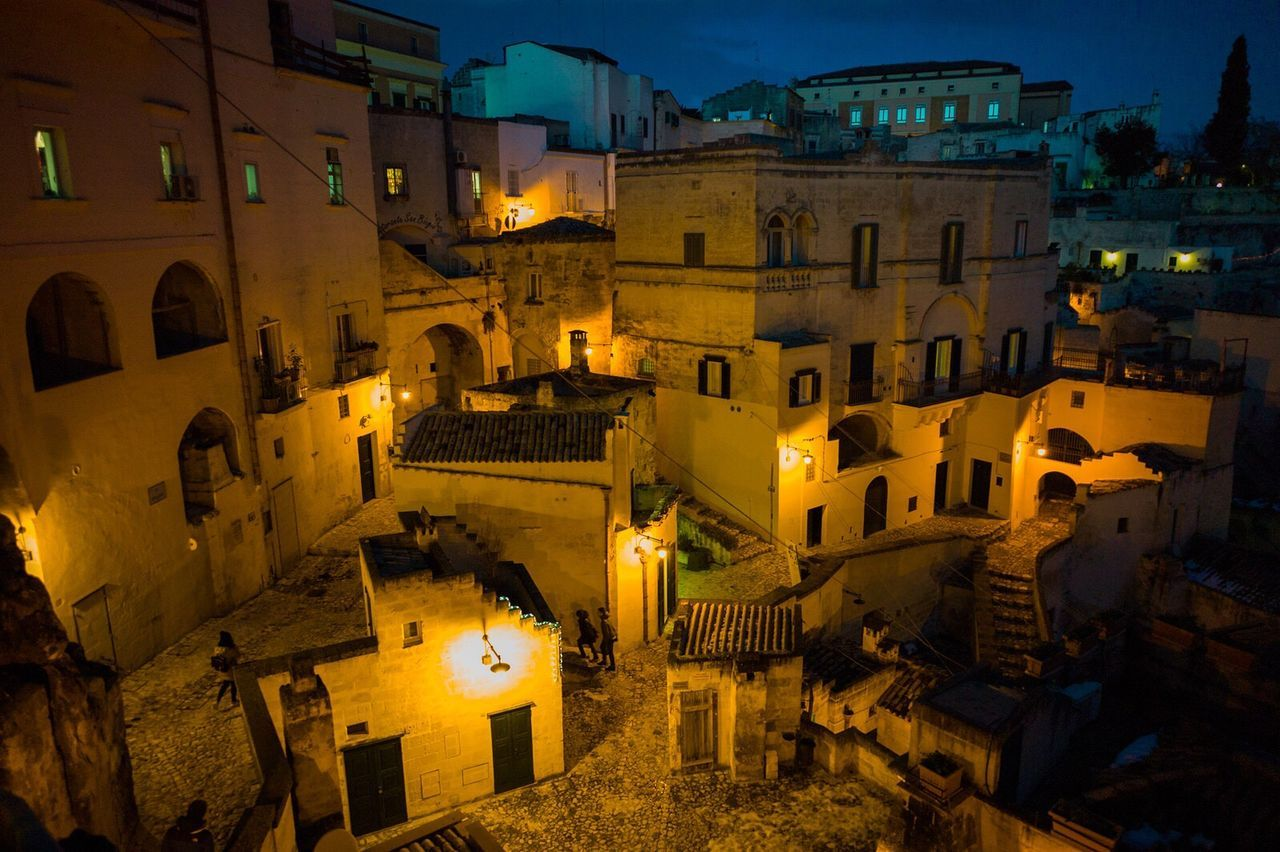 Sassidimatera Matera Leica Italy Travel Illuminated Night Cityscape Matera Italy Matera2019 History Explore Leicacamera Tourism Travel Destinations