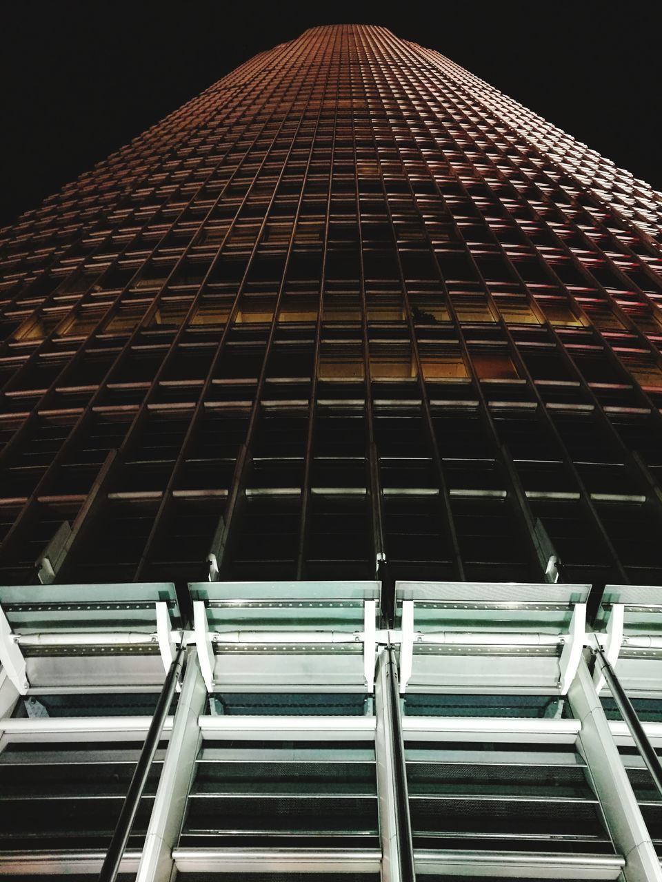 architecture, low angle view, built structure, building exterior, no people, travel destinations, modern, night, city, outdoors