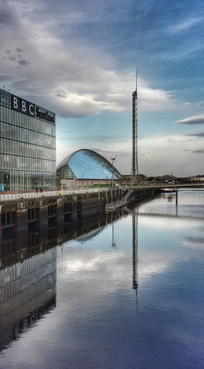 Glasgow Tower River Clyde Glasgow Science Centre  BBCScotland