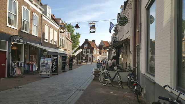 Architecture Built Structure Building Exterior Street City Transportation The Way Forward City Life Sky Day Narrow Outdoors Architecture_collection Dutch Cities Taking Photos Taking Pictures City Life Dutch Dutch House Dutch Architecture Town Dutch Photographer Houses
