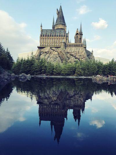 Harrypotter Harry Potter Harry Potter World Universal Studios  Universal Studios Japan Lake Reflection