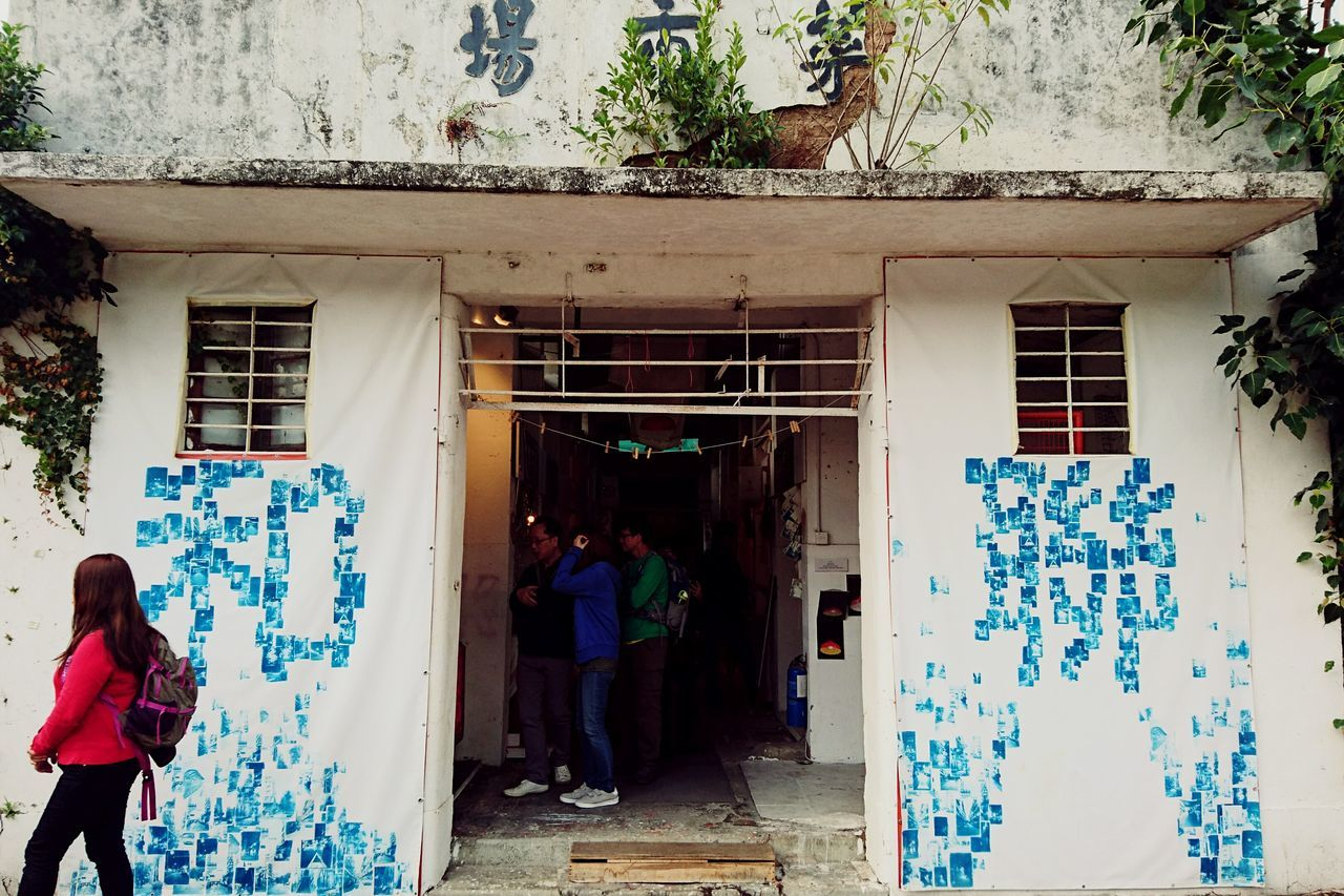 A pop-up market set in an abandoned wet market building. Fanling, Hong Kong.Architecture Building Exterior Lifestyles City Hong Kong Market Miles Away Old Building  Revival