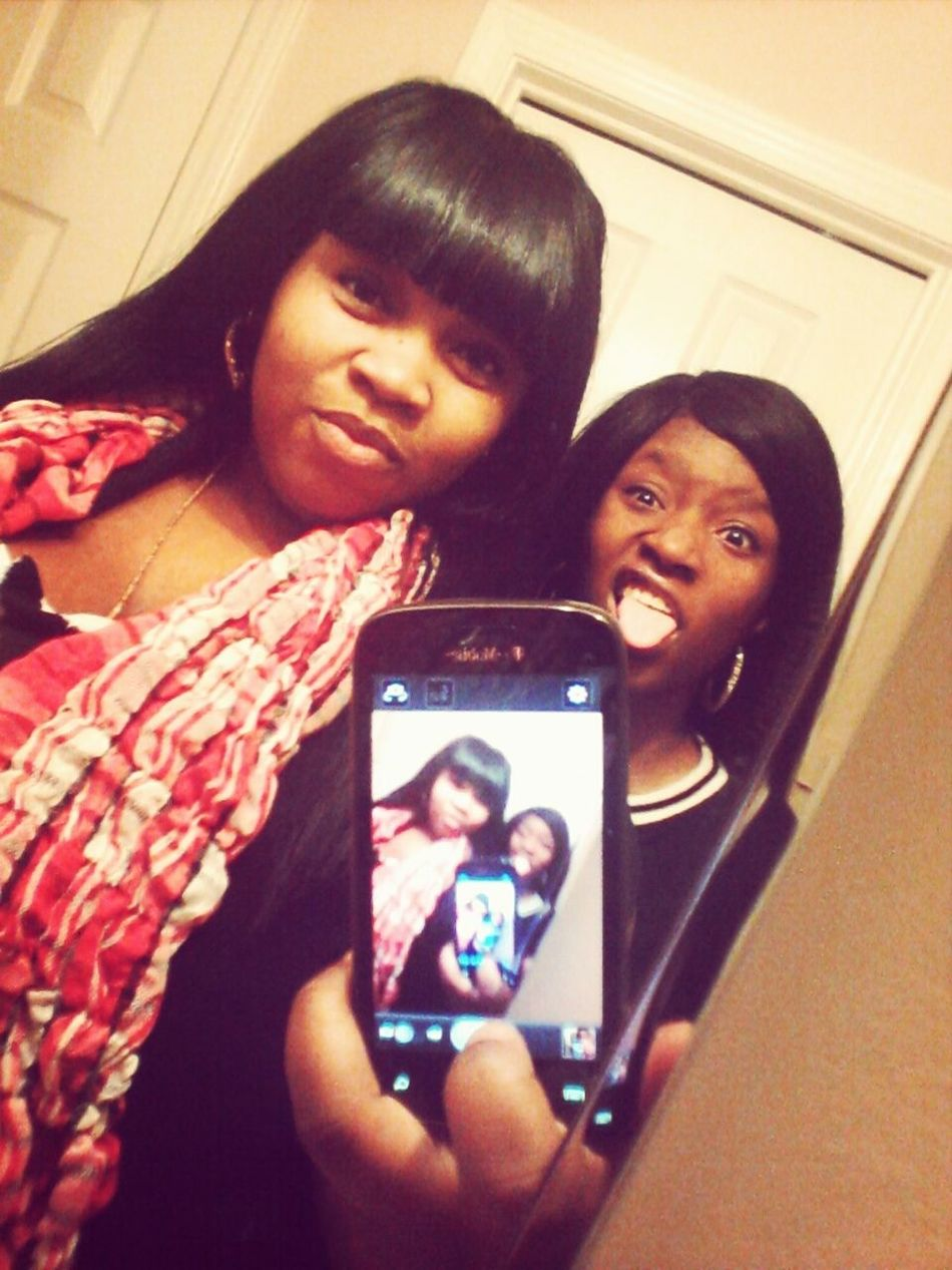 We may argue fuss & physically fight but we're FAMILY & I KNOW she'll always have my back #FamilyFIRST