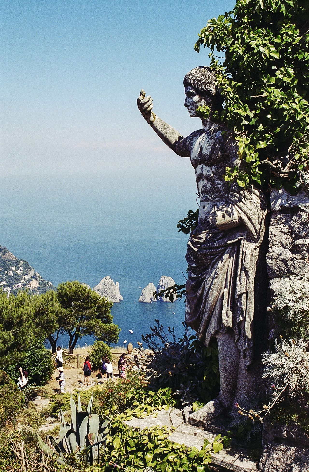 Isle of Capri, Italy Film Photography Film Is Not Dead Italy Film Travel Destinations 35mm Film Ancient Clear Sky History Statue Capri Island Capri, Italy Capri