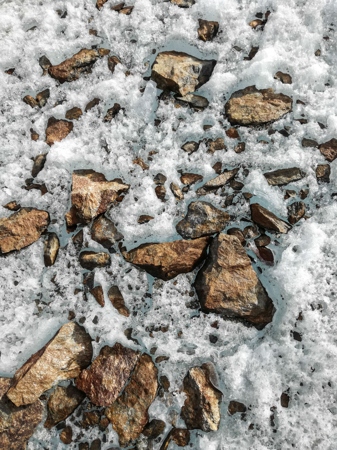 """""""the ice we are walking on"""" Animal Track Background Beauty In Nature Close-up Cold Temperature Day Freshness Frozen Glacier Hiking Hikingadventures Ice Ice Age Nature No People Outdoors Paw Print Snow Stones Stones & Water Surface Surfaces And Textures Texture Winter Winter"""