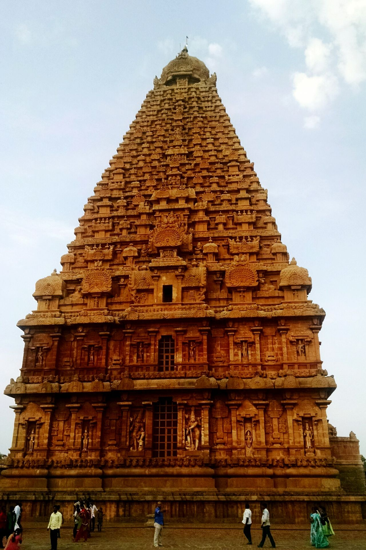 Religion Travel Destinations Architecture Statue Tourism History Travel Spirituality Sky Beauty Vacations Place Of Worship Archaeology Monument Vacations Tamilnadu India Tanjore Big Temple Ancient Civilization Ancient Old Ruin Travel