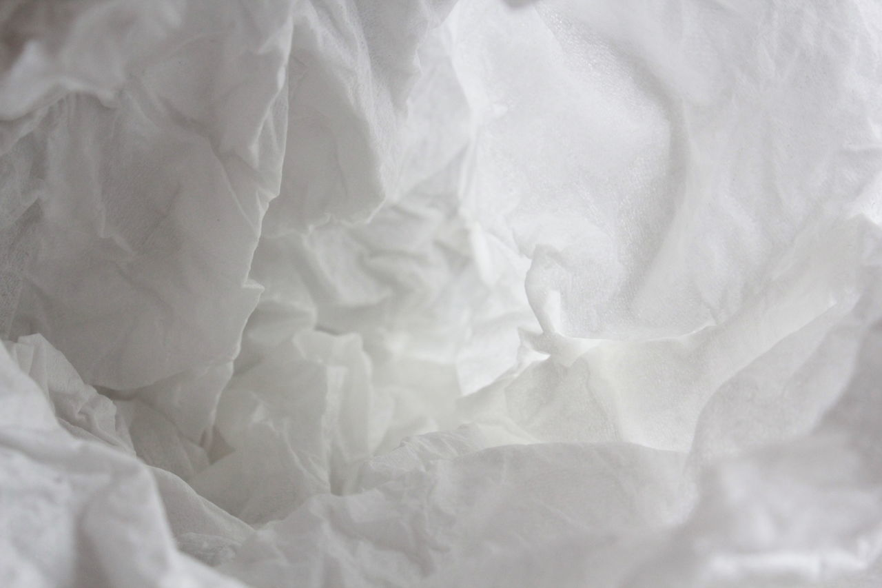 Backgrounds Cave Cavern Clean Space Close-up Cloud Folds Hankie Hanky Hollow Light Light And Shadow LimbuSoda Nirvana No People Paper Paper Towel Paper Towels Space Surface Surreal Surrealism Texture White Wrinkles BYOPaper!