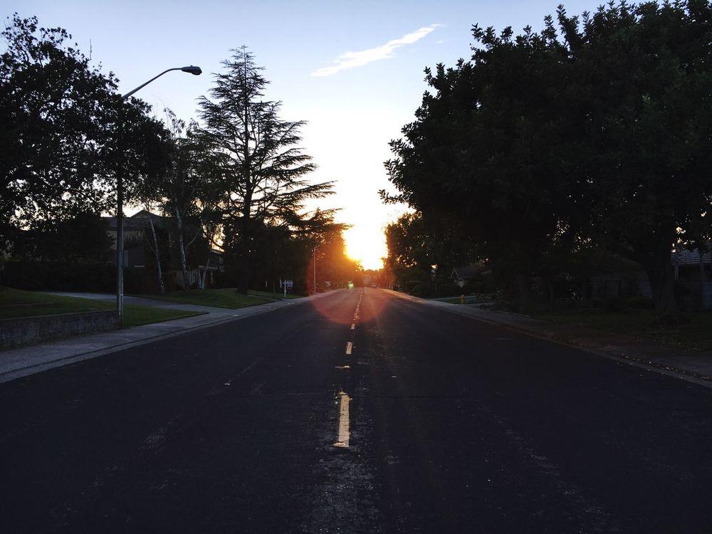 Sunset Outdoors Evening Sky Chasinglight Light Chaser Chasing Light California Love City Light The City Light