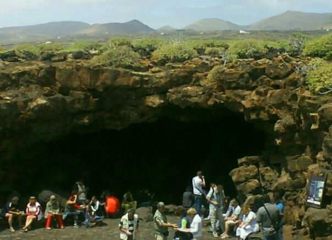 Lanzarote Island Cueva
