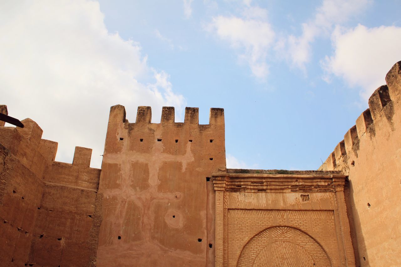 You can't build a reputation on what you are going to do. Ancient Architecture Building Exterior Built Structure Castle Cloud - Sky Day Fort History Low Angle View Medieval Moroccan Moroccan Architecture Moroccan Style Morocco No People Old Ruin Outdoors Sky Travel Travel Destinations
