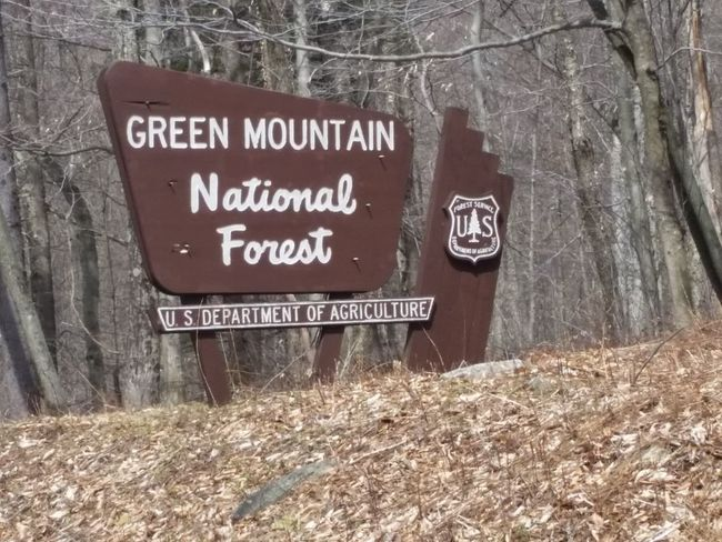 National Forest Long Trail Early Spring 2016 Hike Trail Open Edit