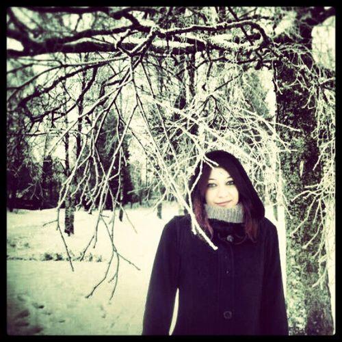 Selfportrait , Sognsvann i Oslo . There was Snow White