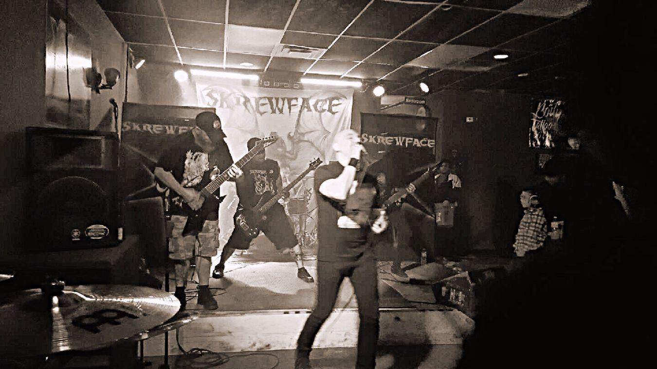 Music Performance Fridaynight Metal Skrewface