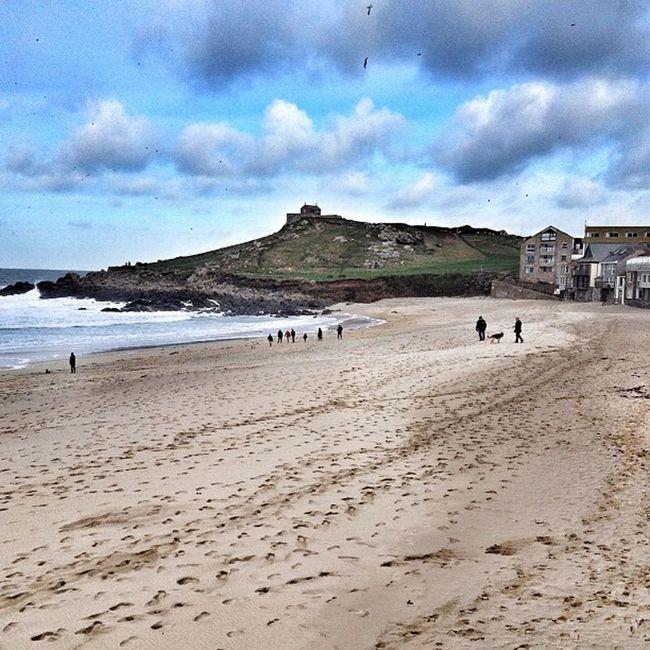 The island... # St.ives #cornwall #beach #porthmeor #improvedimage Beach Cornwall Improvedimage Porthmeor
