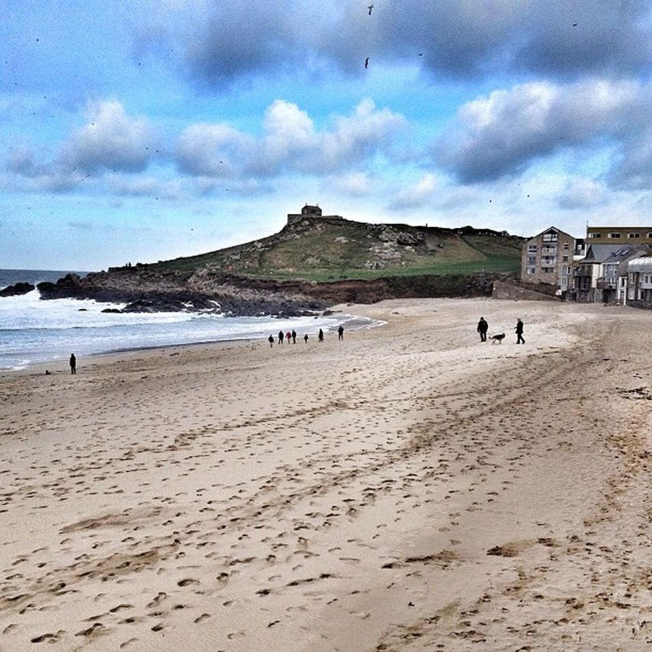 The island... # St.ives #cornwall #beach #porthmeor #improvedimage Beach Cornwall Improvedimage Porthmeor