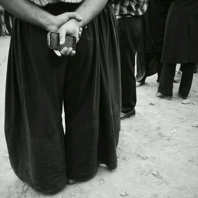 People gathering in their traditional dress, waiting for ceremoy to begin. Abyaneh, Iran Monochrome Black & White EyeEm Best Shots Iran