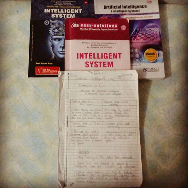 Exam Ucoe Ucoe2015 Beit sem7 IT subjects intelligentsystems