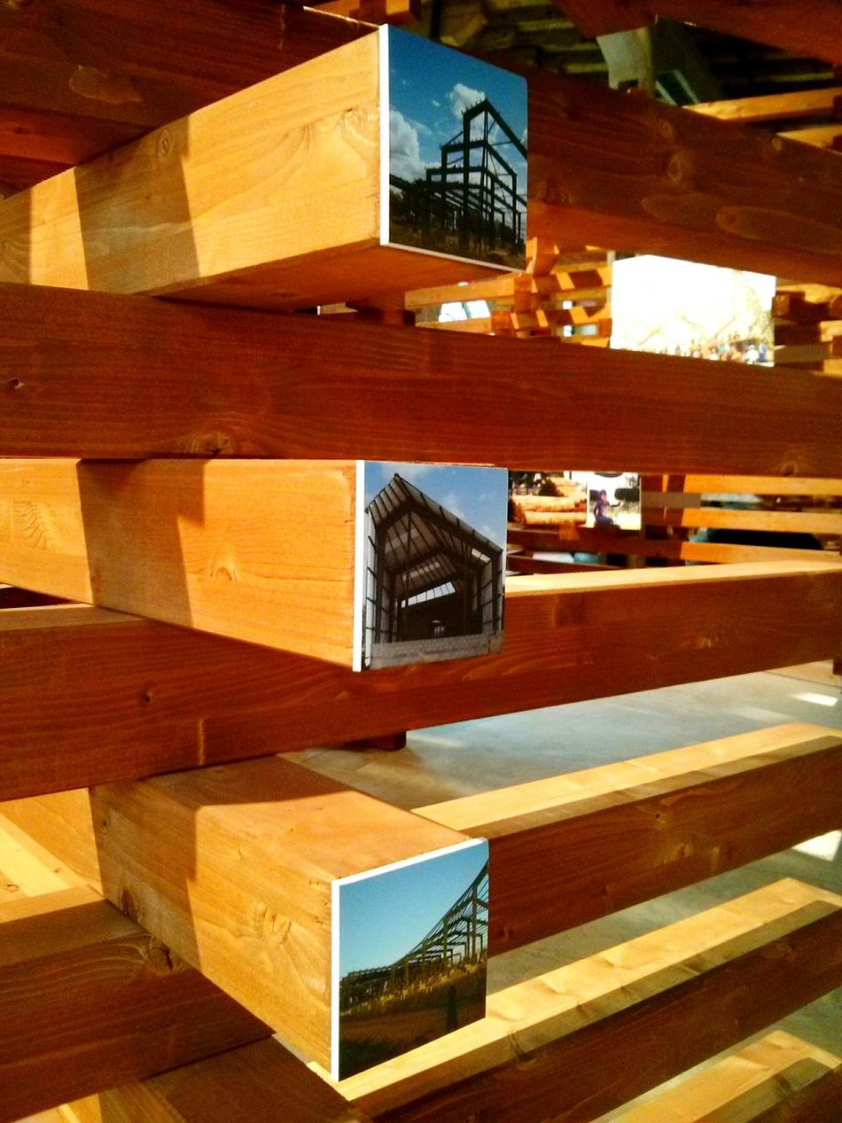 Exibition Italy Bienale 2016 Vacation Architecture Art Daily Photo Wood Small Detail Creativity