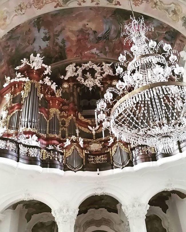 Church Krzeszow Złoto Barok Organy Poland Familtytime Perlabaroku Fantastico