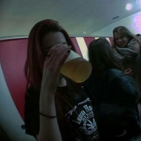 Teen Age Riot. Enjoying Life Party Hard