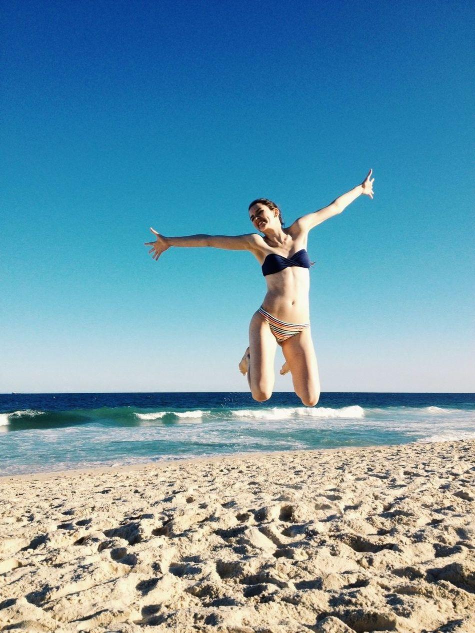 Enjoying The Sun Beach Relaxing