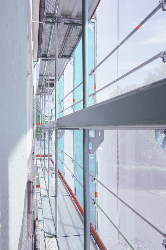 Architecture Baugerüst Building Construction Day Gerüst  Inside No People Refurbishment Renovation Scaffold Scaffolding