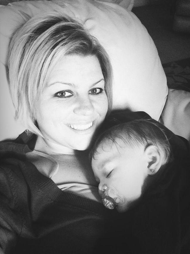 Finally Got Her To Sleep