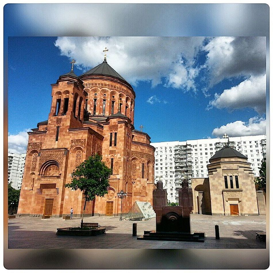 Армянская_церковь Arhitecture Armenian Church Moscow